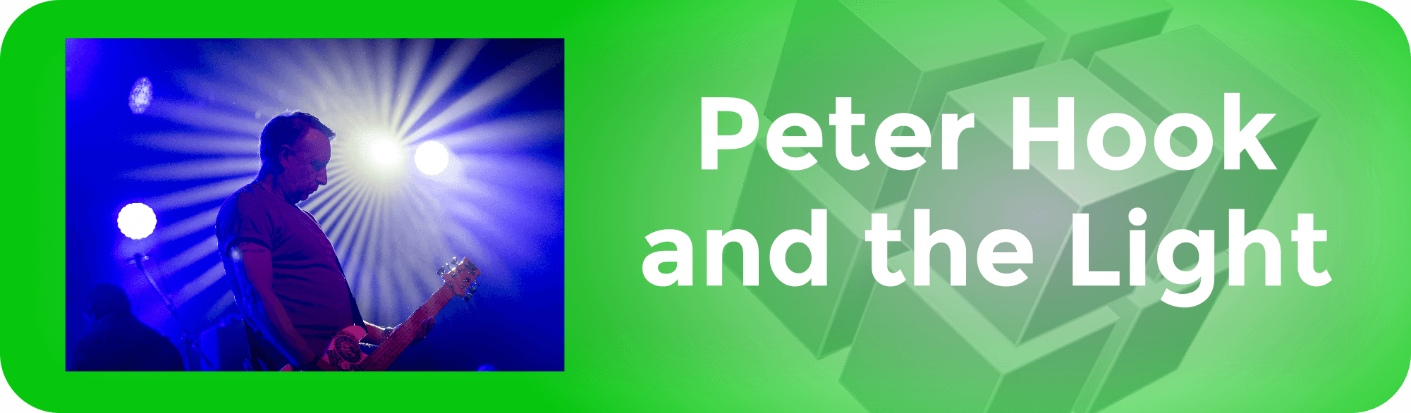Peter Hook and the Light (1)